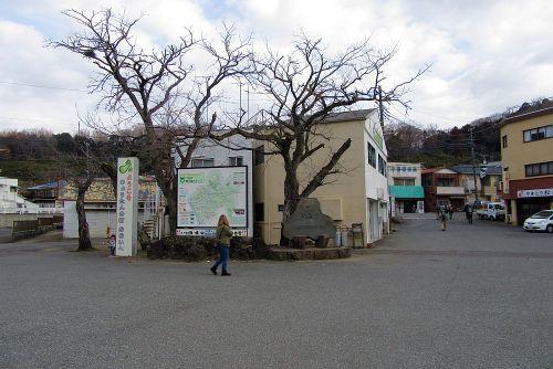 上大井駅前