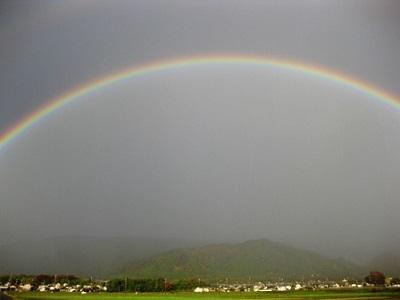 高島市 虹