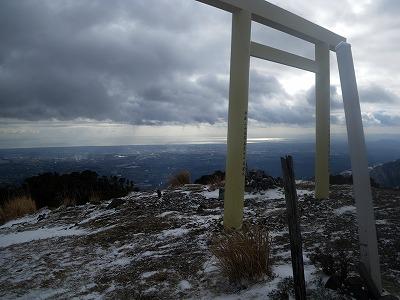 入道ヶ岳頂上2