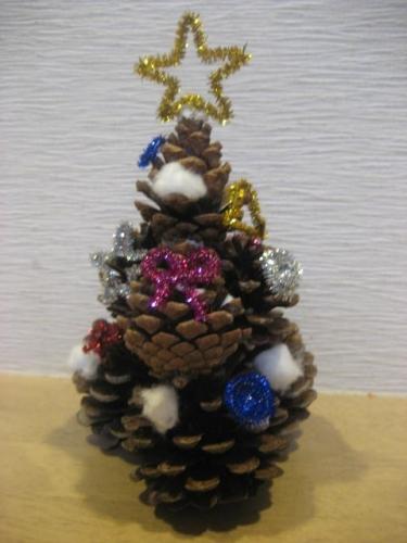151215ネイチャークラフト・クリスマスツリー
