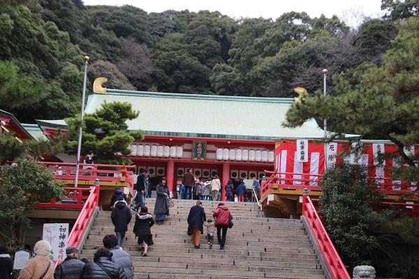 赤間神宮 2018-1-5-5