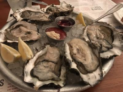 Seafood Restaurant oysters