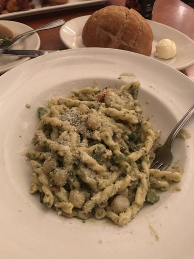 Seafood Restaurant pasta