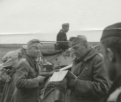 Rommel_Karl Rothenburg_Le Caueau_17.Mai.1940