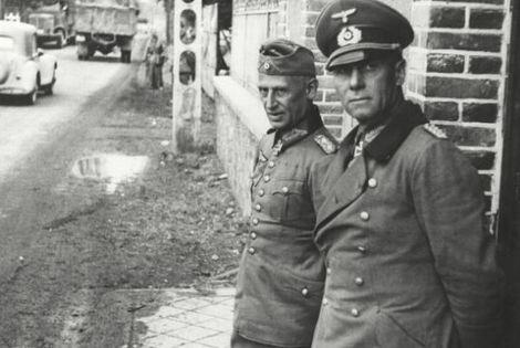Erwin Rommel_Hermann Hoth_7 Juni 1940_Éplessier