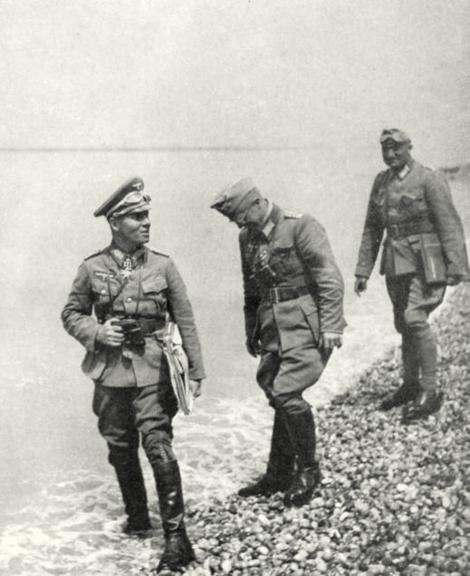 Rommel_Georg von Bismarck_Littau_Les Petites Dalles_10_Juni_1940