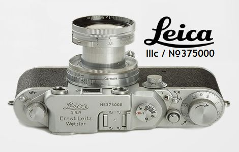 Leica IIIc_No375000_Rommel's Leica