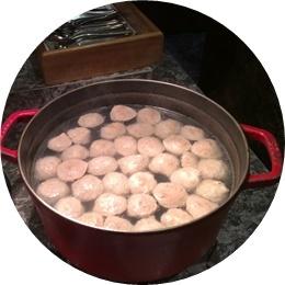 ⑦-1水餃子