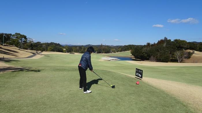 ゴルフ2日目 (2)