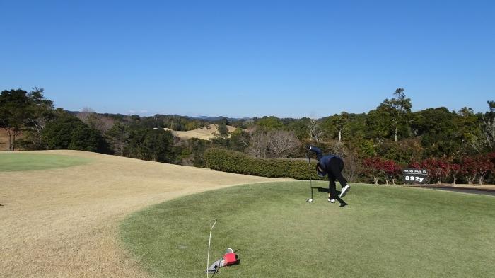 ゴルフ2日目 (1)