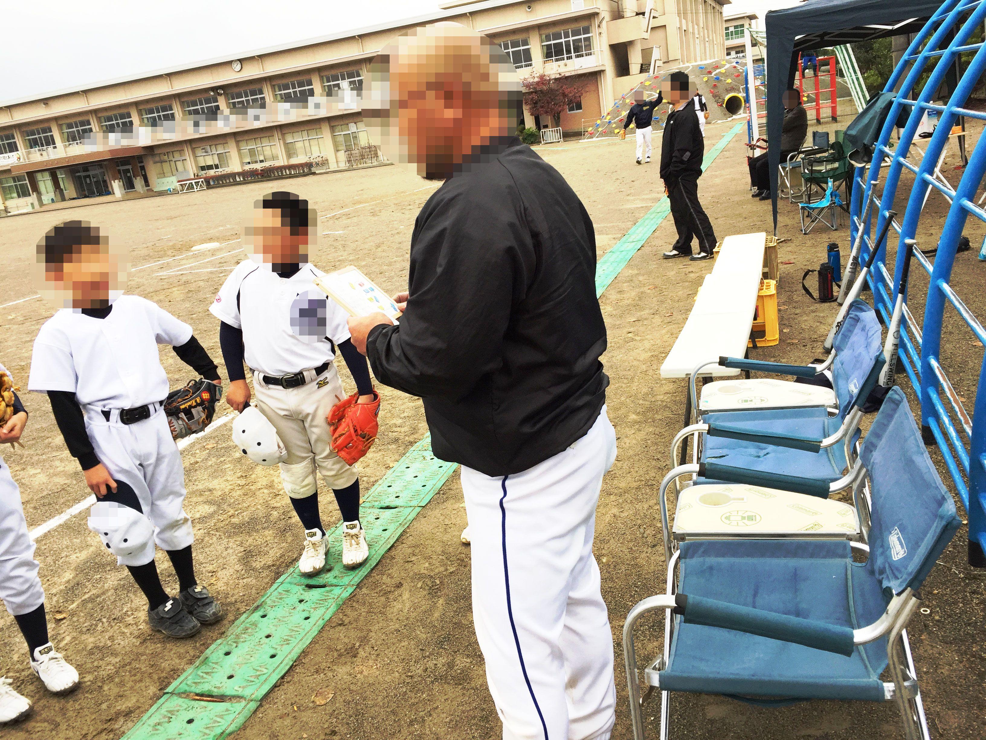 少年野球・マグボード野球作戦版(実践)