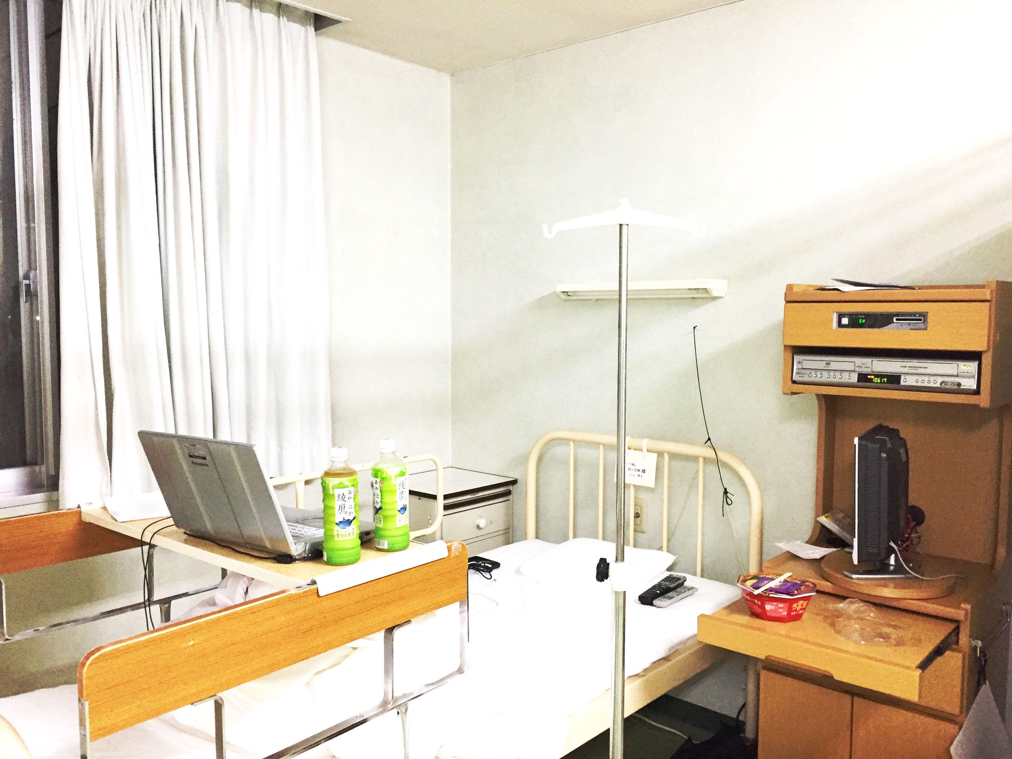 大部屋一人ぼっちの入院の様子・荷物01
