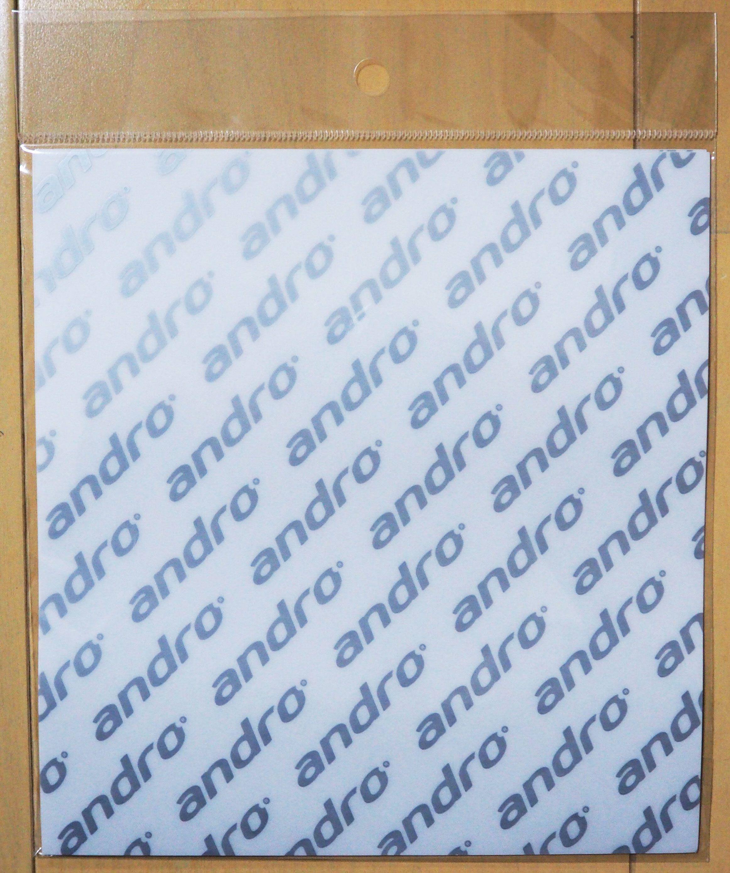 卓球ラバー・粘着保護シート(アンドロ)表