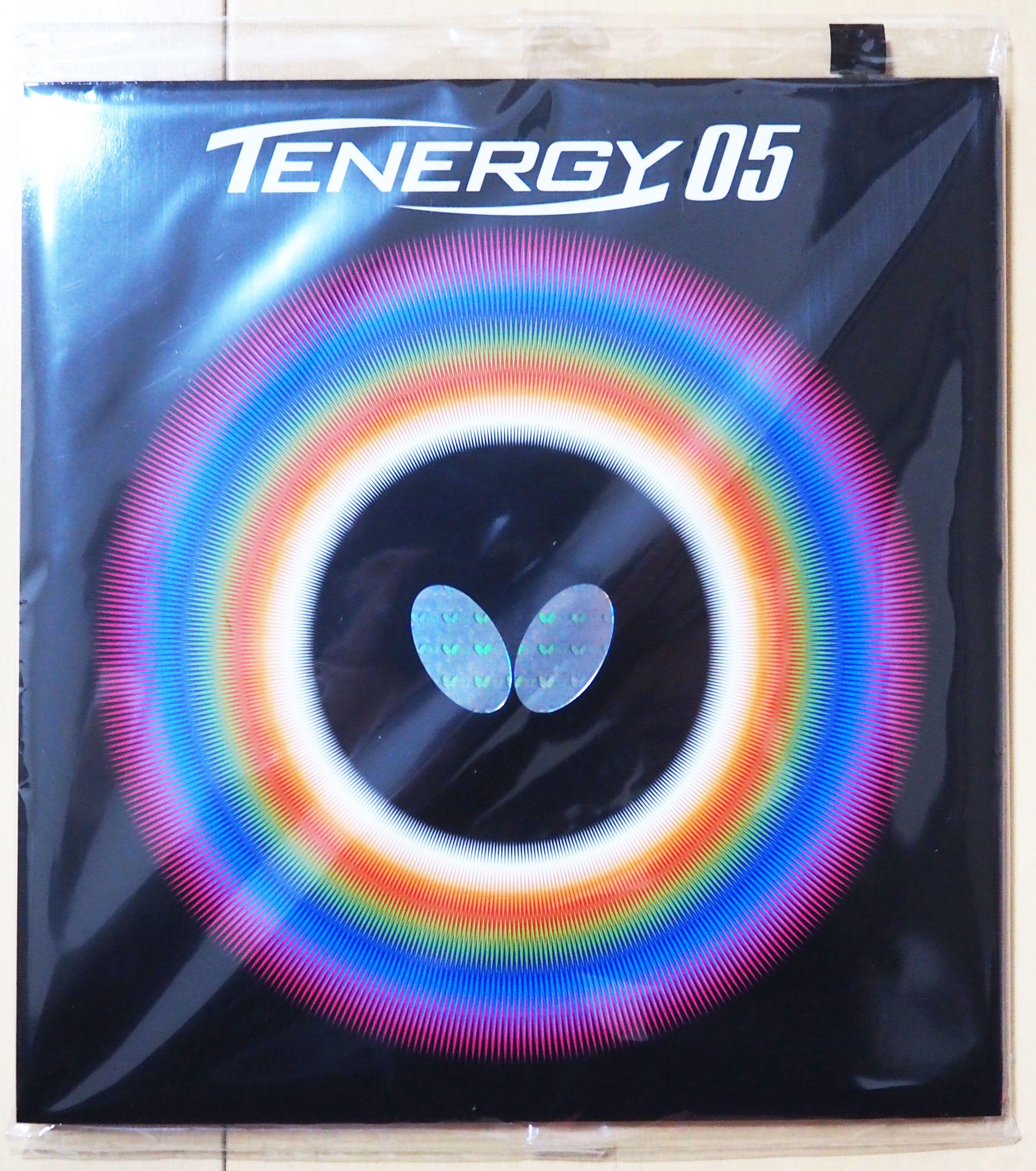 卓球ラバー・テナジー05(黒)