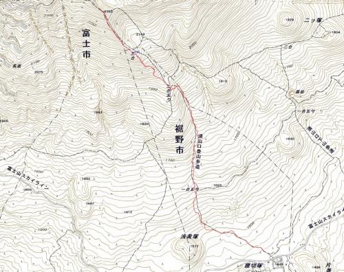 171229 須山」登山道軌跡