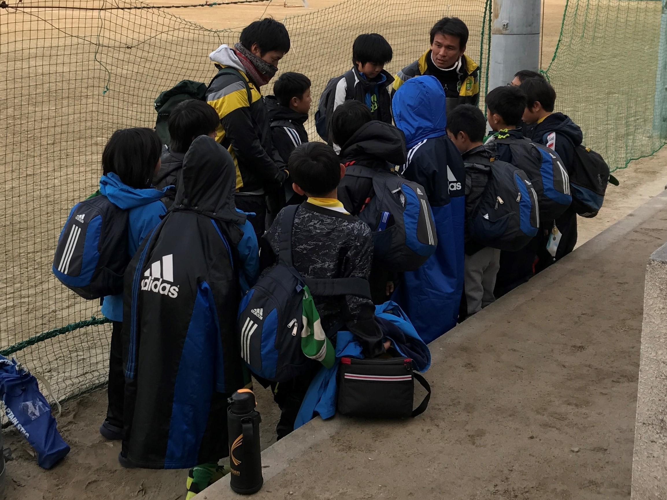 門真市サッカー大会初日171223②