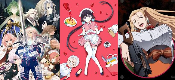 【アニメBD/DVDウィークリー】『Fate/Apocrypha』積んで6700枚に! 『サンシャイン』は5,3万枚に! グラブルには追いつけないか?