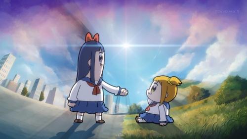 冬の新アニメ『ポプテピピック』第1話感想・・・内 容 は 糞 !! 色んな声優の力が試されるアニメだこれー!!  先行上映とは内容が別物だった模様【ニコ生評価①が15%】