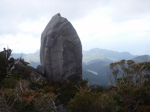 太忠岳・天柱石