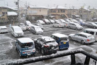 2018年の初雪