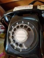 黒電話、現役!