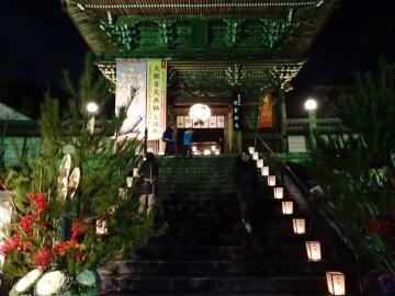 2017年12月31日 長谷寺入口