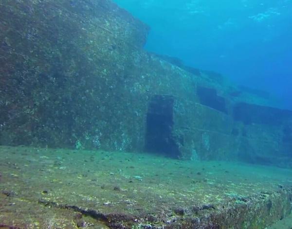 与那国島の海底遺跡②