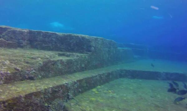 与那国島の海底遺跡①