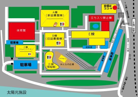 梅ヶ峠新地図2018-岡野さんのライブスペース入り