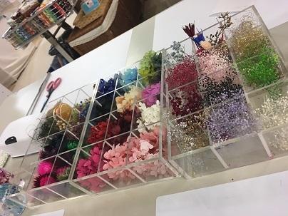 花材たくさん