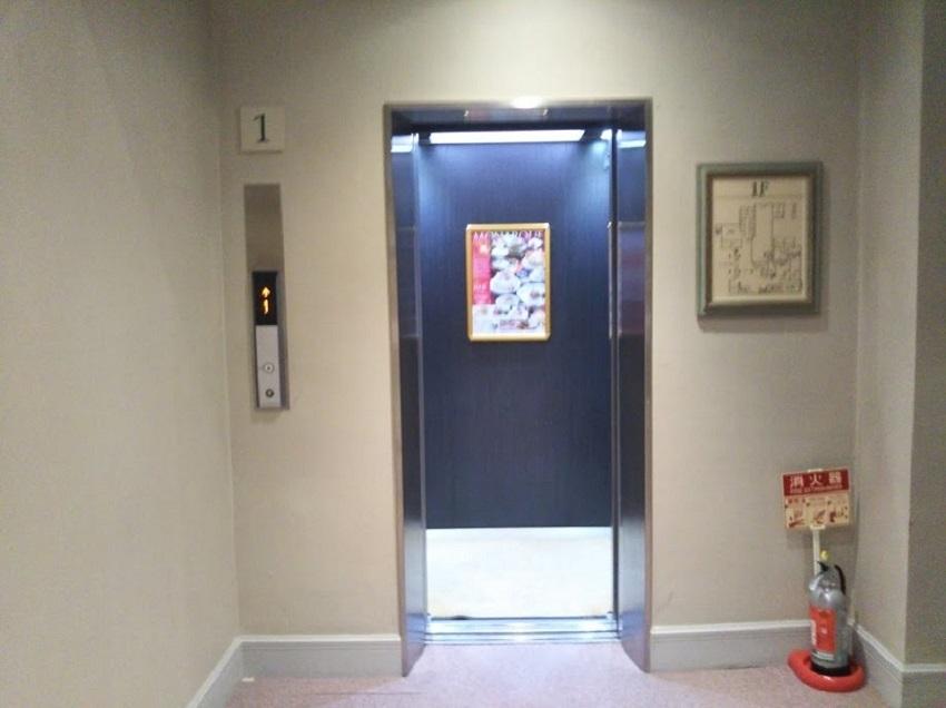 大浴場 直行エレベーター