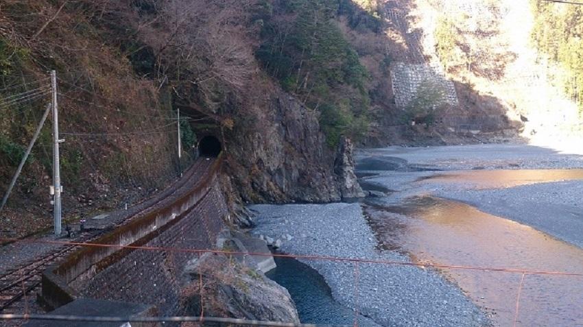 井川線 両国付近