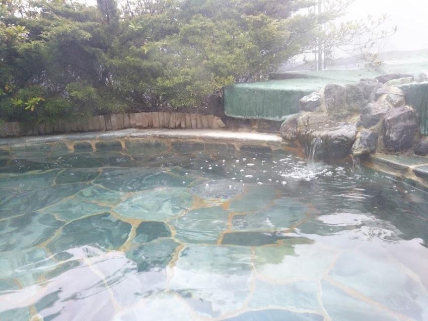 くつき温泉てんくう 露天風呂1