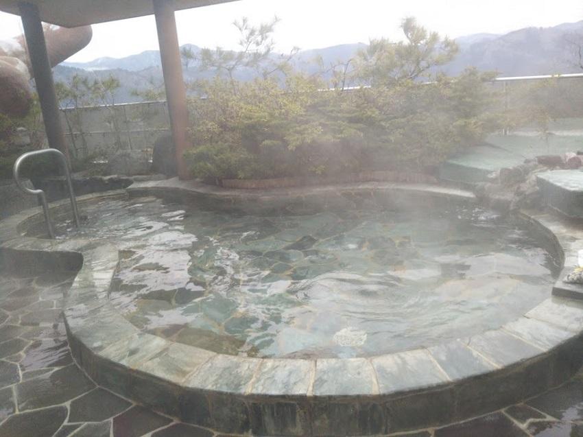 くつき温泉てんくう 露天風呂2