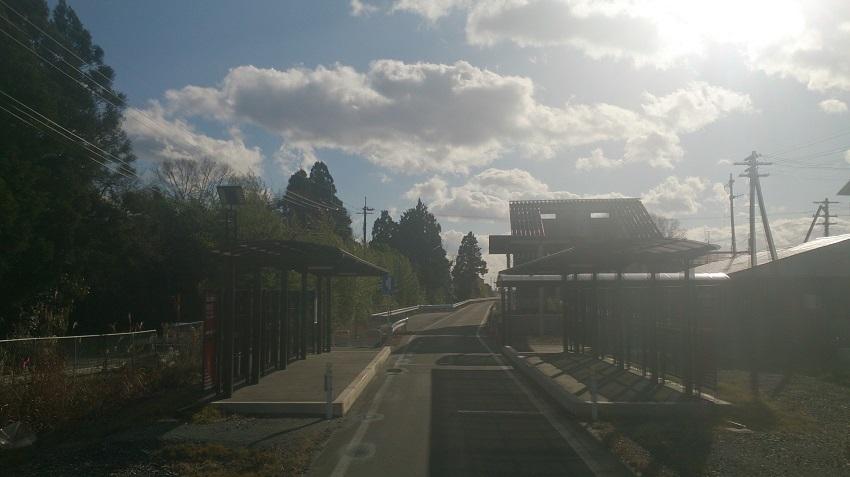 BRT バス専用道1