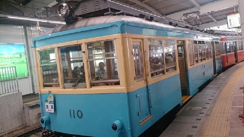 箱根登山鉄道 レトロ車両