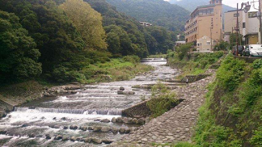 早川と温泉宿