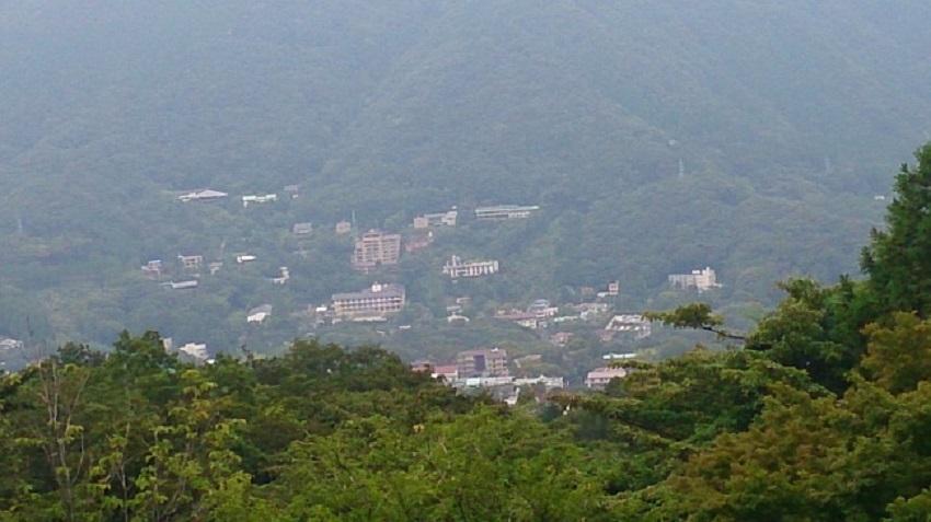 早雲山展望台からの眺望