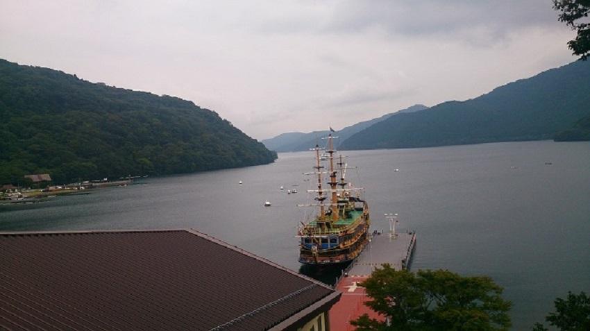 芦ノ湖 海賊船1