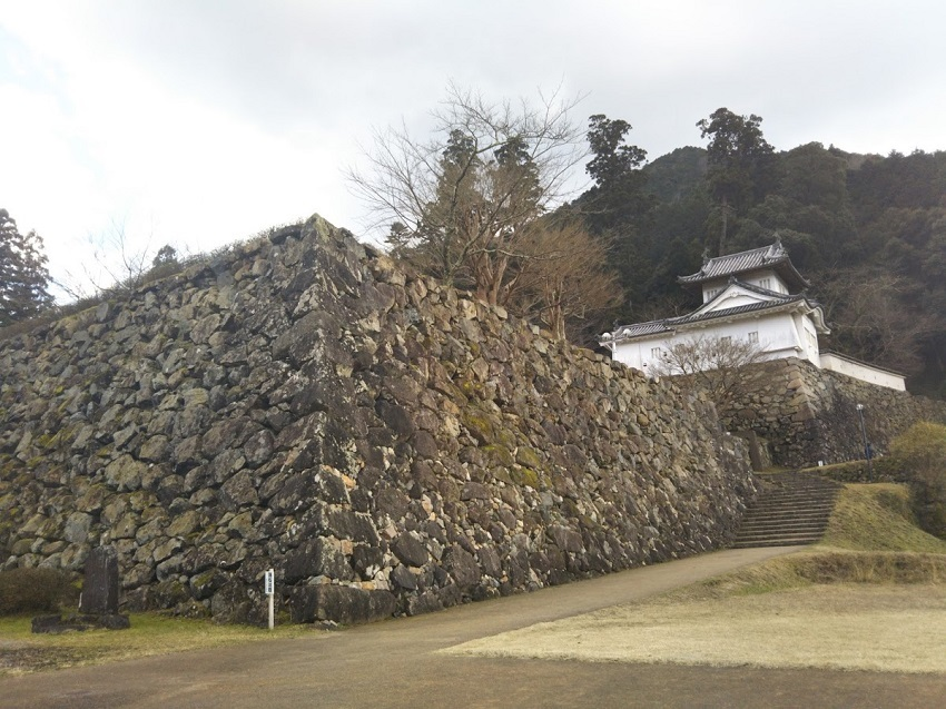 出石城 石段