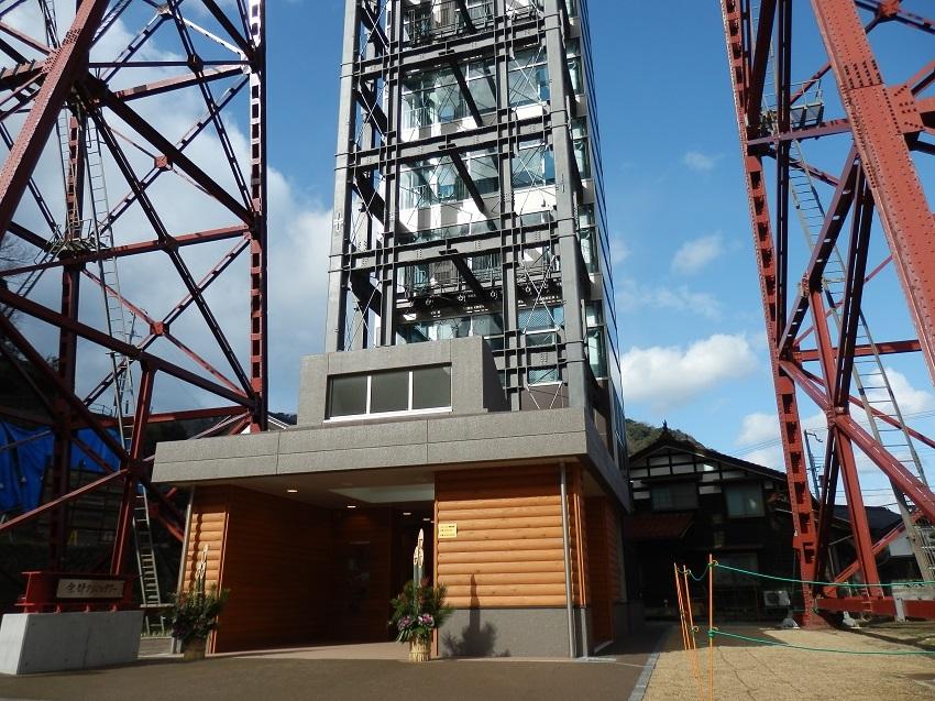 クリスタルタワー 地上入口