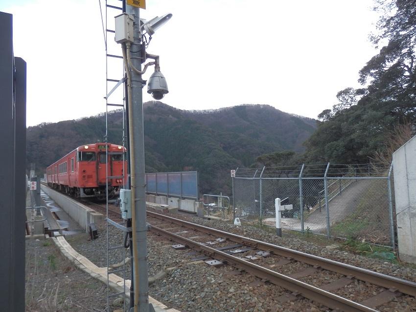 鉄橋を渡る列車
