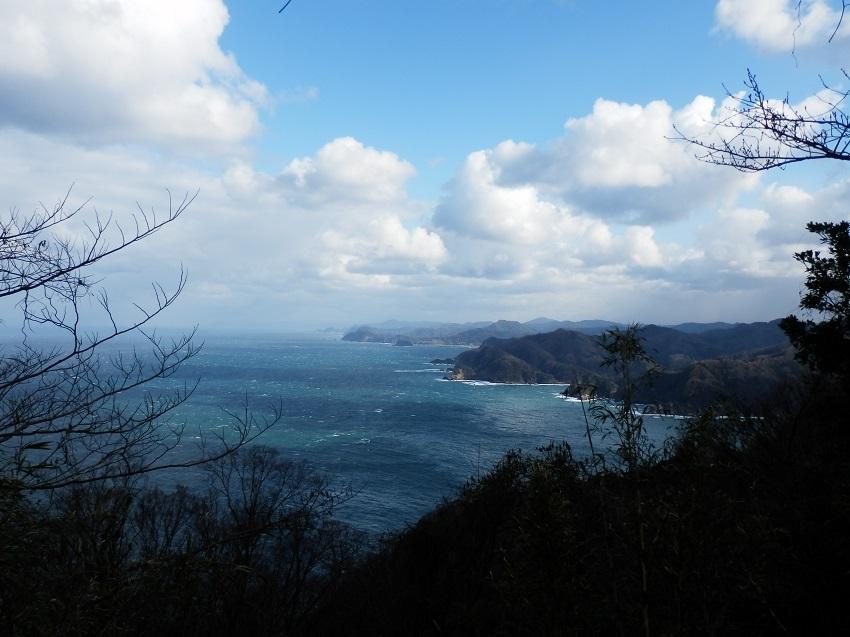 灯台付近からの眺望