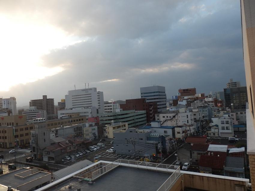 窓からの眺望。