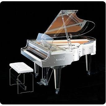 カワイ クリスタルグランドピアノ KAWAI CR-40A YOSHIKIモデル