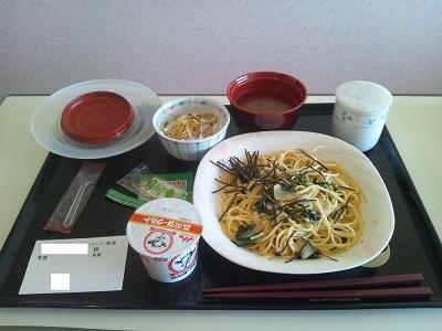 2012年1月17日病院食(昼食)