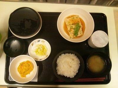 2012年1月17日病院食(夕食)