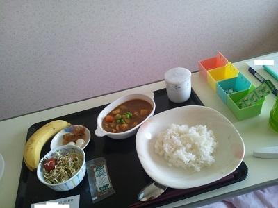 2012年1月18日病院食(昼食)