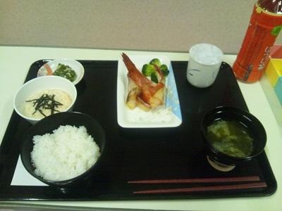 2012年1月18日病院食(夕食)