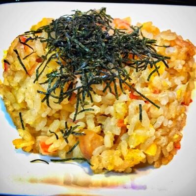 五目チャーハン×レシピ♪パラパラ炒飯を作るなら炊飯ジャーで簡単!